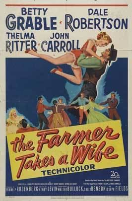 The Farmer Takes a Wife (1953 film) The Farmer Takes a Wife Movie Posters From Movie Poster Shop