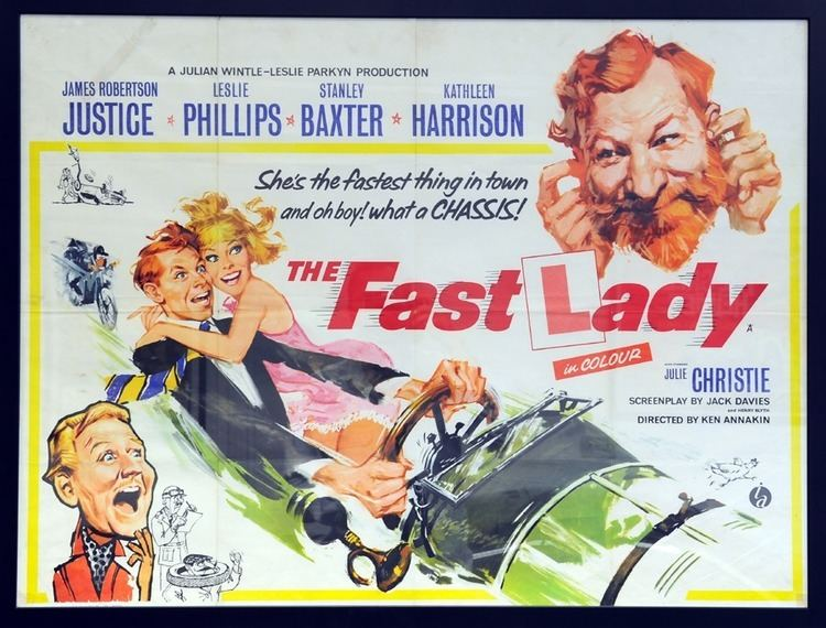 The Fast Lady Fiskens The Fast Lady Poster 1962
