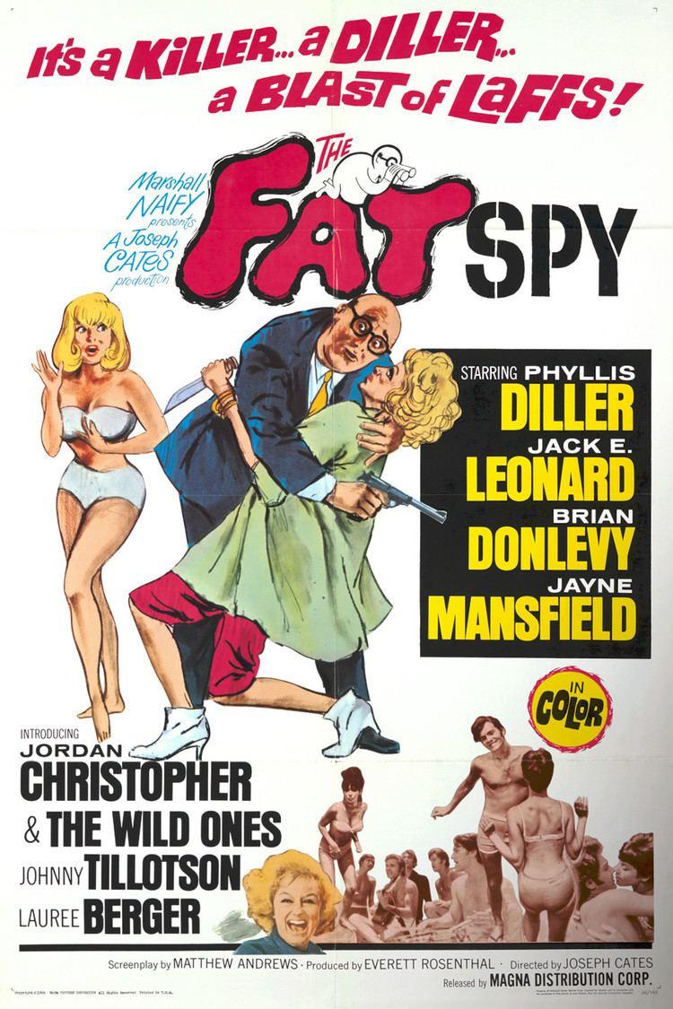 The Fat Spy wwwgstaticcomtvthumbmovieposters40188p40188