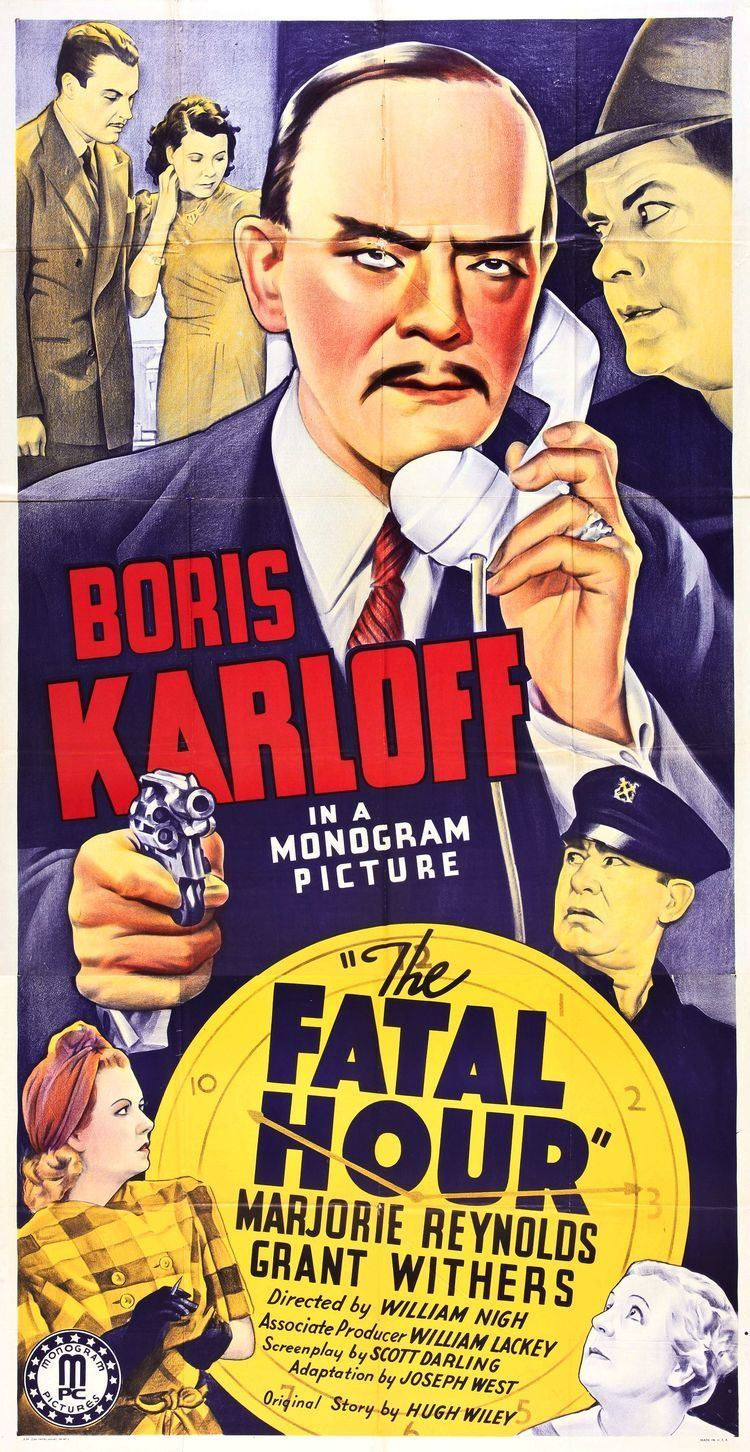 The Fatal Hour (1940 film) Poster for The Fatal Hour 1940 USA Wrong Side of the Art