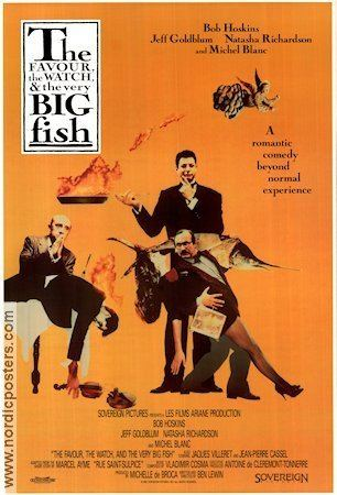 The Favour, the Watch and the Very Big Fish The Favour the Watch and the Very Big Fish poster USA 1991 Bob