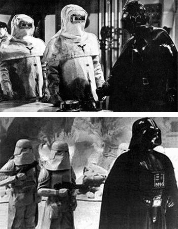 The Fighting Devil Dogs star wars Did George Lucas base Darth Vader on Lightning from The