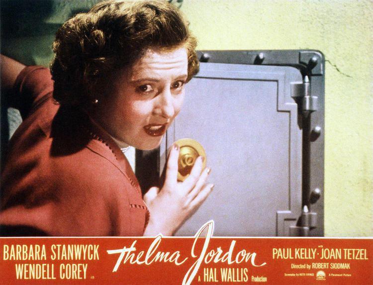 The File on Thelma Jordon The File on Thelma Jordon 1950