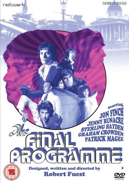 The Final Programme (film) DVD REVIEW THE FINAL PROGRAMME 1973 STARRING JON FINCH