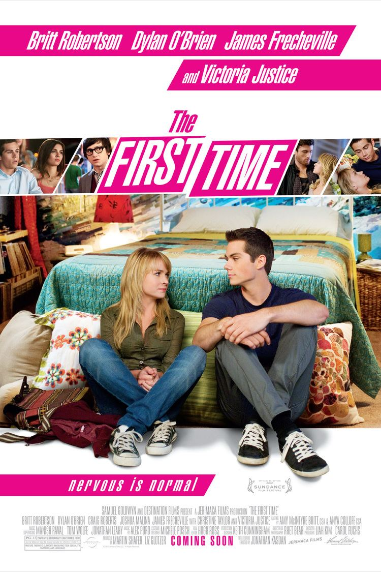 The First Time (2012 film) wwwgstaticcomtvthumbmovieposters9027059p902