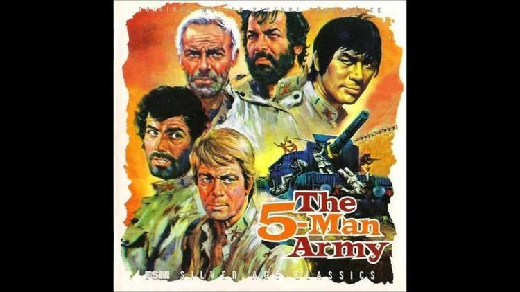 The Five Man Army Ennio Morricone The Five Man Army Cinque Amici Cinque Eroi YouTube