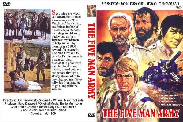 The Five Man Army FreeCoversnet The Five Man Army 1969 R0 CUSTOM