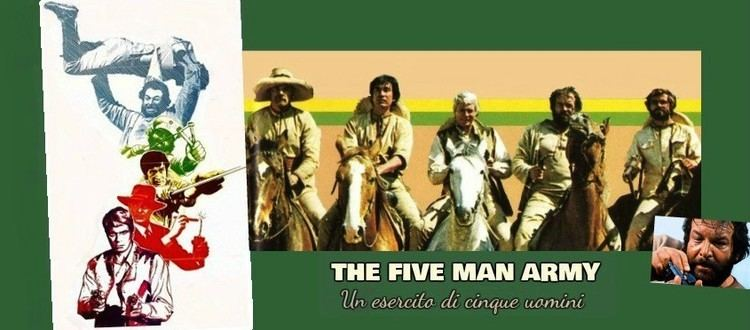 The Five Man Army The Five Man Army Review The Spaghetti Western Database