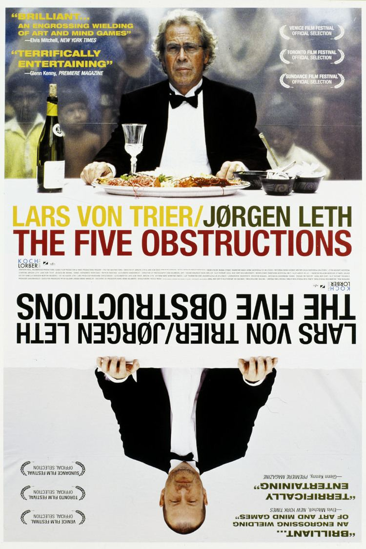 The Five Obstructions wwwgstaticcomtvthumbmovieposters34073p34073