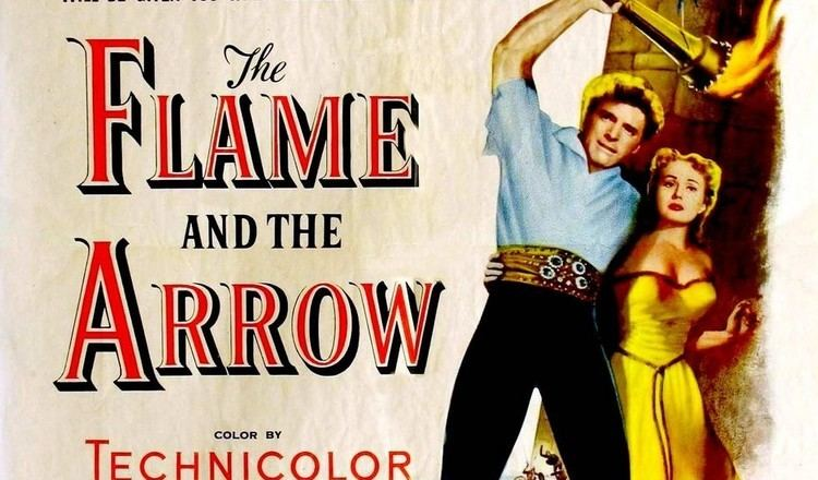 The Flame and the Arrow Burt Lancaster Nick Cravat and The Flame and the Arrow Brothers