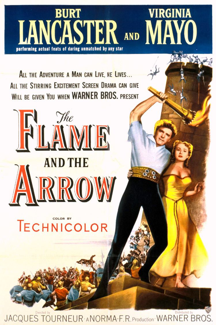 The Flame and the Arrow wwwgstaticcomtvthumbmovieposters873p873pv