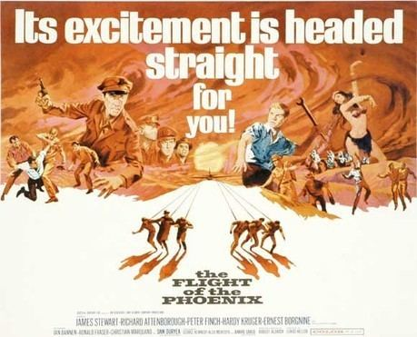 The Flight of the Phoenix (1965 film) A Movie A Day The Flight of the Phoenix 1965