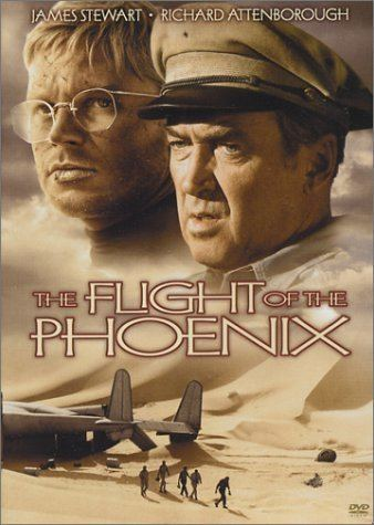 The Flight of the Phoenix (1965 film) Amazoncom Flight Of The Phoenix 65 James Stewart Richard
