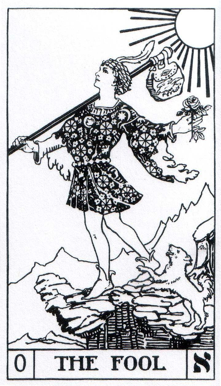 The Fool (Tarot card) 1000 images about THE FOOL on Pinterest Cap d39agde Love tarot