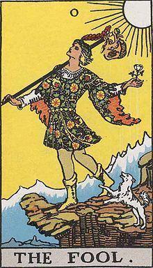 The Fool (Tarot card) httpsuploadwikimediaorgwikipediaenthumb9