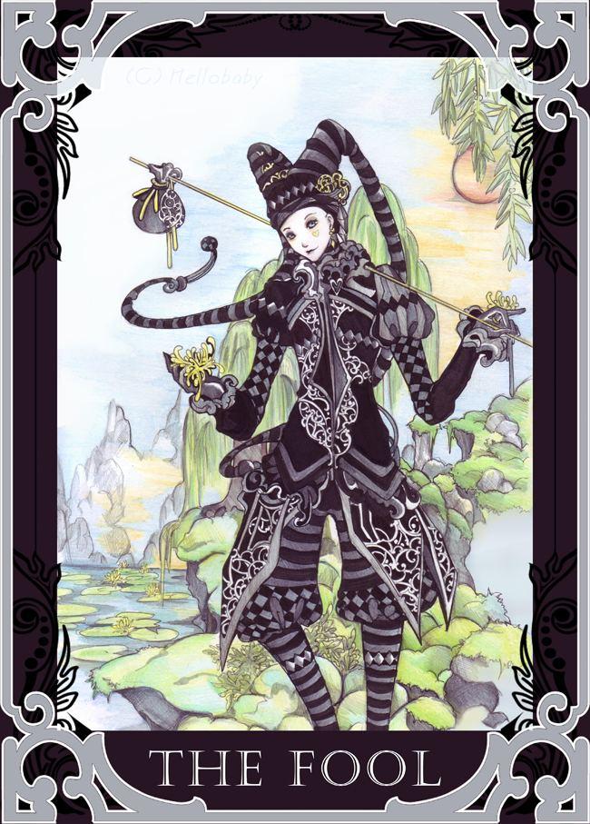 The Fool (Tarot card) Hail Eris Hail Discordia Language Jokes and To tell