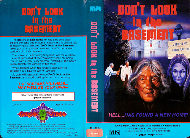 The Forgotten (1973 film) Video Nasties Dont Look In The Basement aka The Forgotten 1973