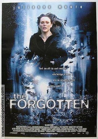 The Forgotten (2004 film) The Forgotten poster 2004 Julianne Moore original