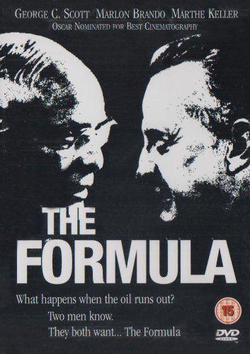 The Formula (1980 film) The Formula 1980 DVD Amazoncouk Marlon Brando George C