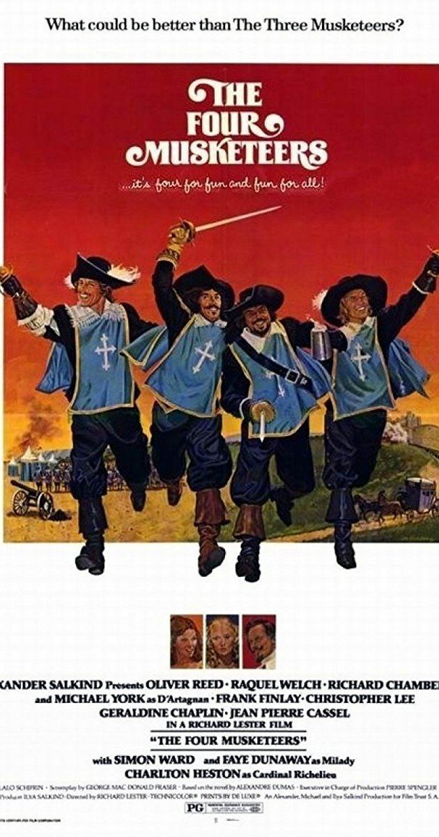The Four Musketeers (1974 film) The Four Musketeers Miladys Revenge 1974 IMDb
