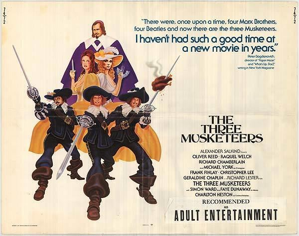 The Four Musketeers (1974 film) I Probably Liked It The Three Musketeers 1973 The Four