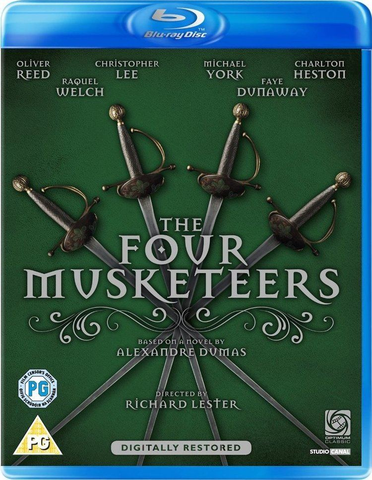 The Four Musketeers (1974 film) The Four Musketeers Bluray United Kingdom
