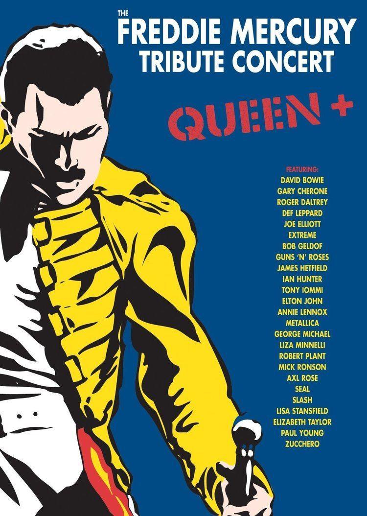 The Freddie Mercury Tribute Concert The Freddie Mercury Tribute Concert to be Released on DVD