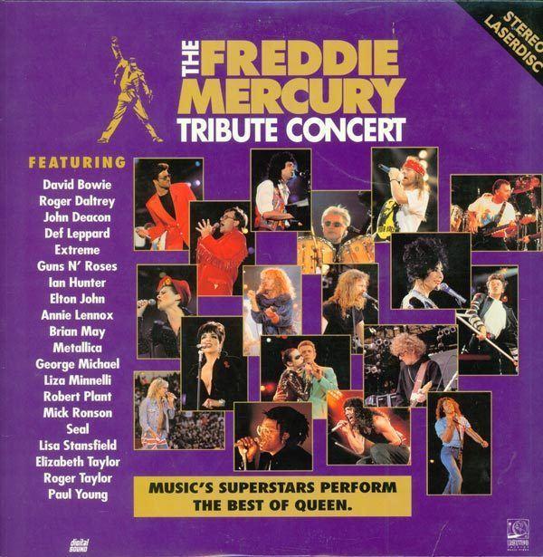 The Freddie Mercury Tribute Concert The Freddie Mercury Tribute Concert 1780 AS 717951780065
