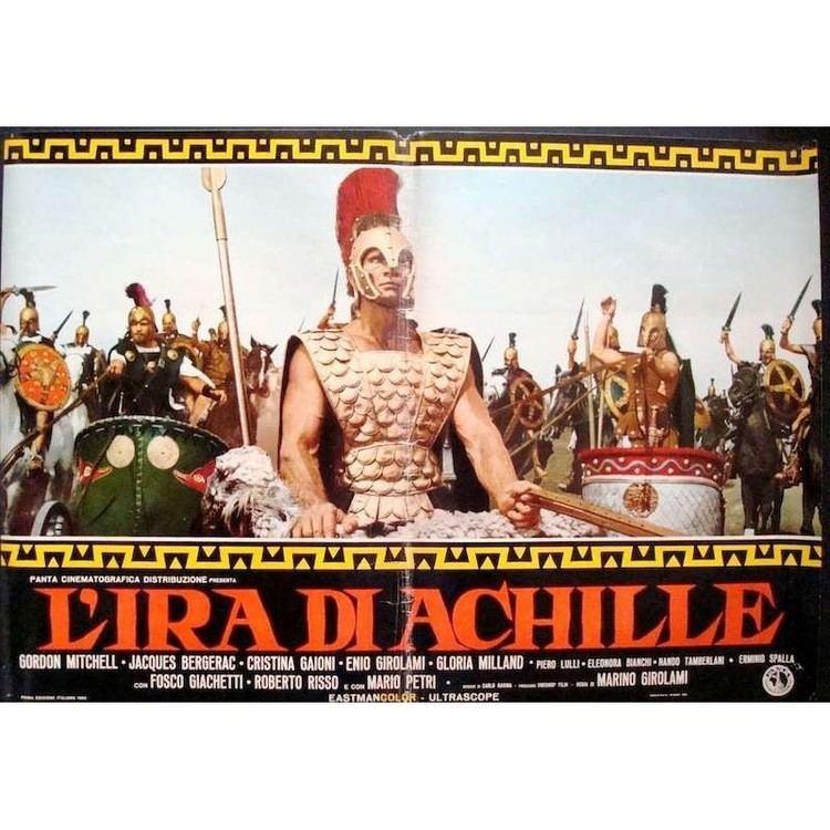 The Fury of Achilles Fury of Achilles Italian fotobusta poster Illustraction Gallery