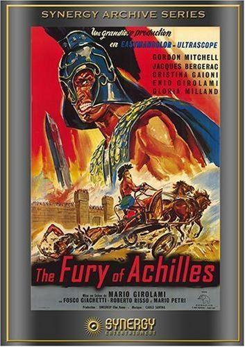 The Fury of Achilles Amazoncom Fury Of Achilles Gordon Mitchell Jacques Bergerac