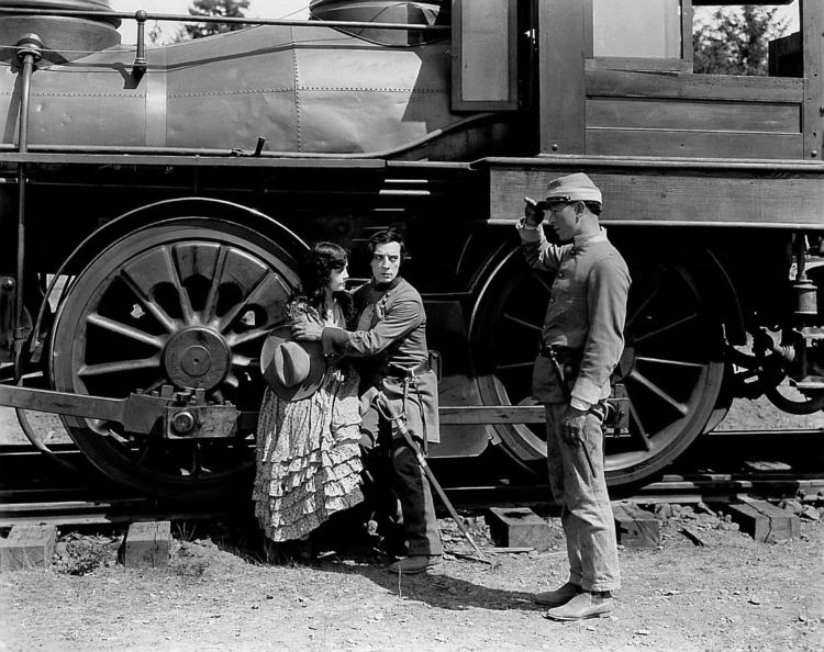 The General (1926 film) The General dir Clyde Bruckman and Buster Keaton 1926 nitrateglow