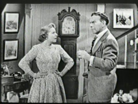 The George Burns and Gracie Allen Show George Burns amp Gracie Allen Show S2E22 Gracie confuses a desk with a