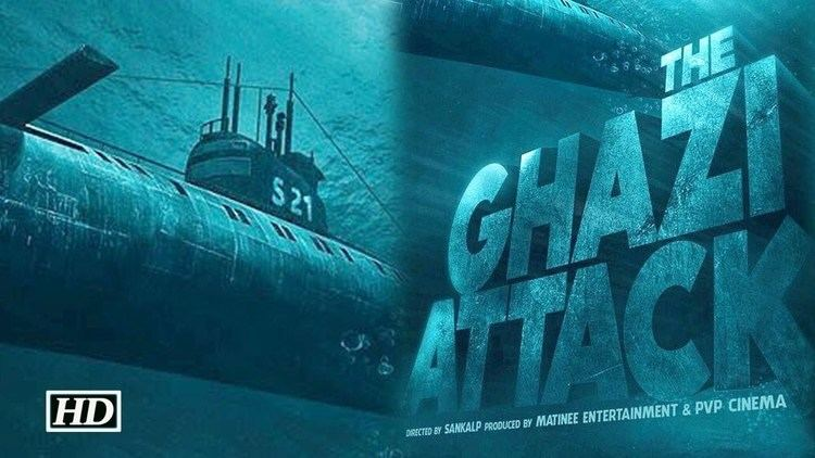 The Ghazi Attack India39s First Sea film 39The Ghazi Attack39 Taapsee Pannu and Rana