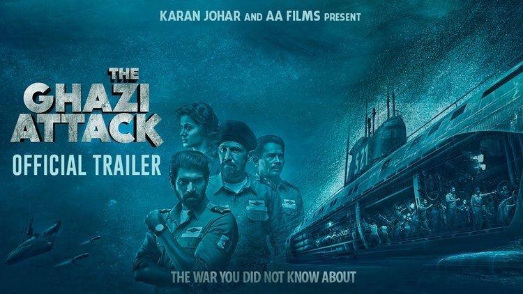 The Ghazi Attack The Ghazi Attack Official Trailer Karan Johar Rana Daggubati