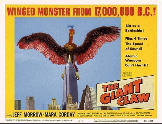 The Giant Claw The Giant Claw Horror Cult Reviews