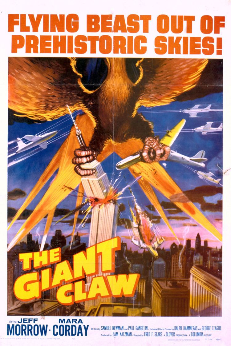 The Giant Claw wwwgstaticcomtvthumbmovieposters41057p41057