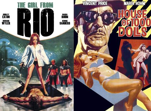 The Girl from Rio Petes Peek Get some retro 1960s thrills with The Girl From Rio