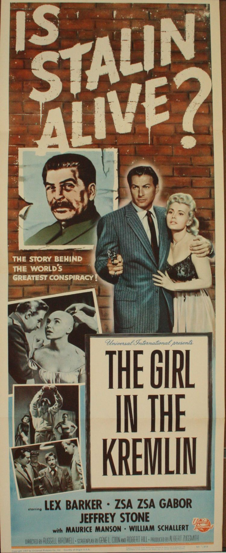 The Girl in the Kremlin GIRL IN THE KREMLIN Insert Poster