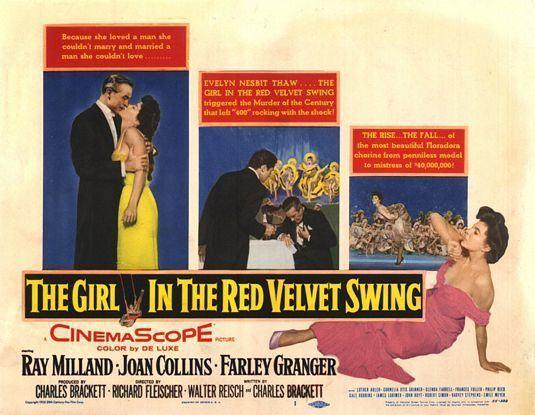 The Girl in the Red Velvet Swing The Girl in the Red Velvet Swing Movie Poster 2 of 2 IMP Awards