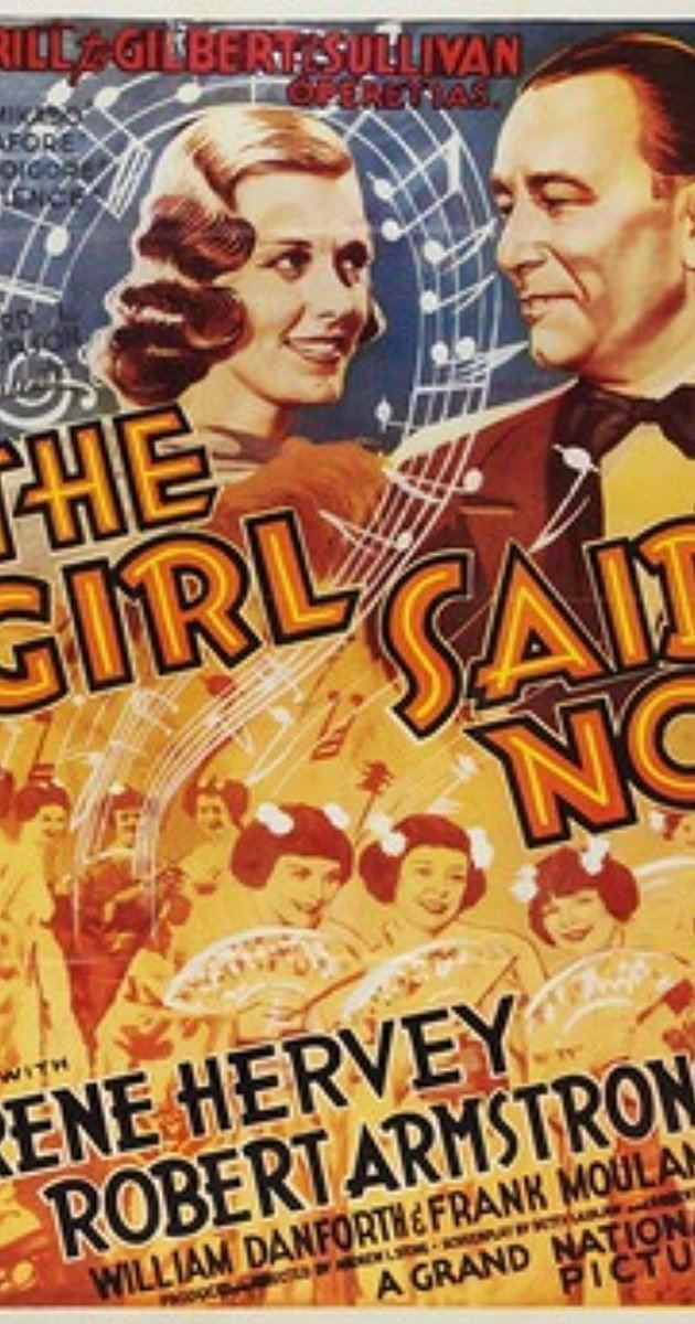 The Girl Said No (1937 film) The Girl Said No 1937 IMDb