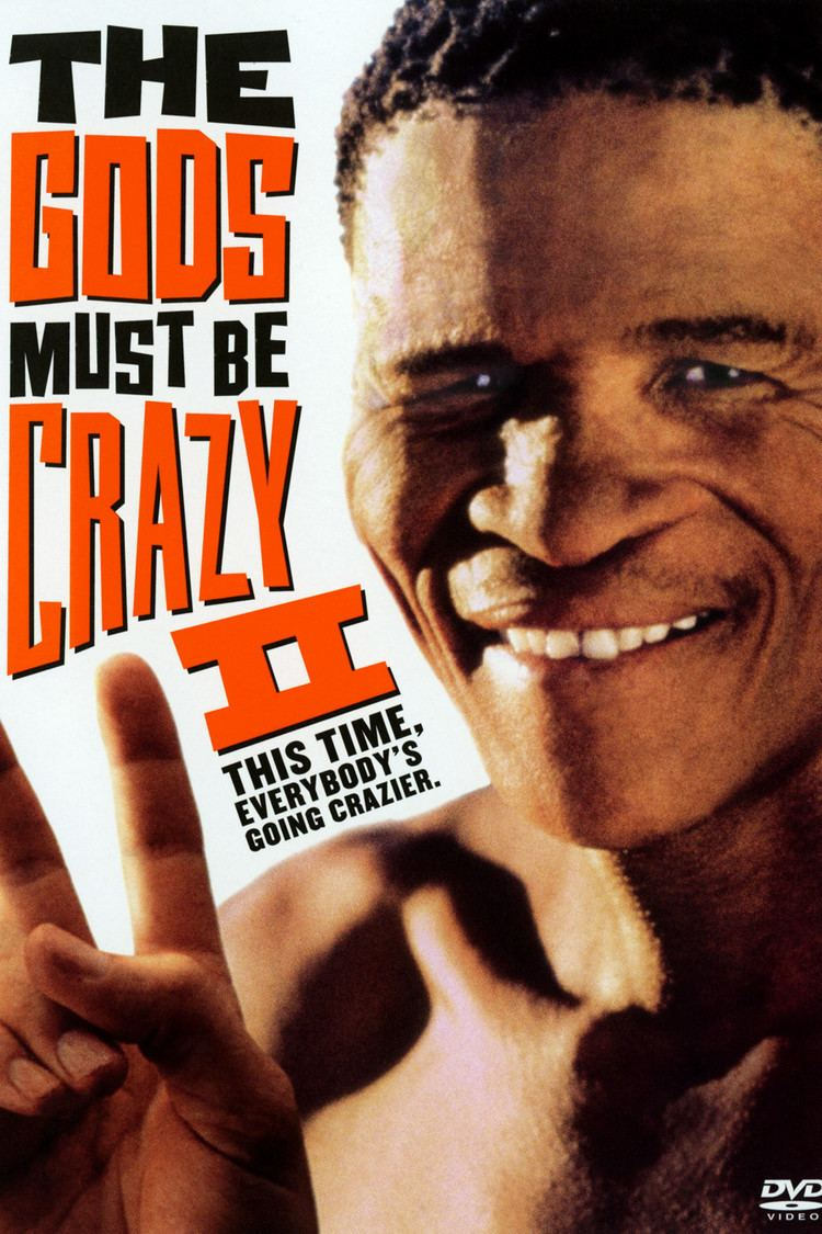 The Gods Must Be Crazy II wwwgstaticcomtvthumbdvdboxart11786p11786d