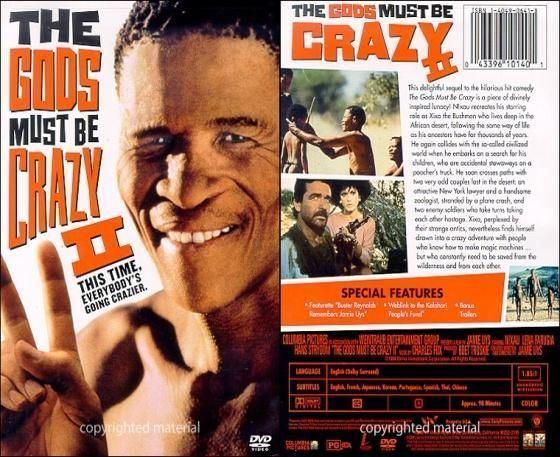The Gods Must Be Crazy II The Gods Must Be Crazy II 1989 ep The Gods Must Be Crazy II