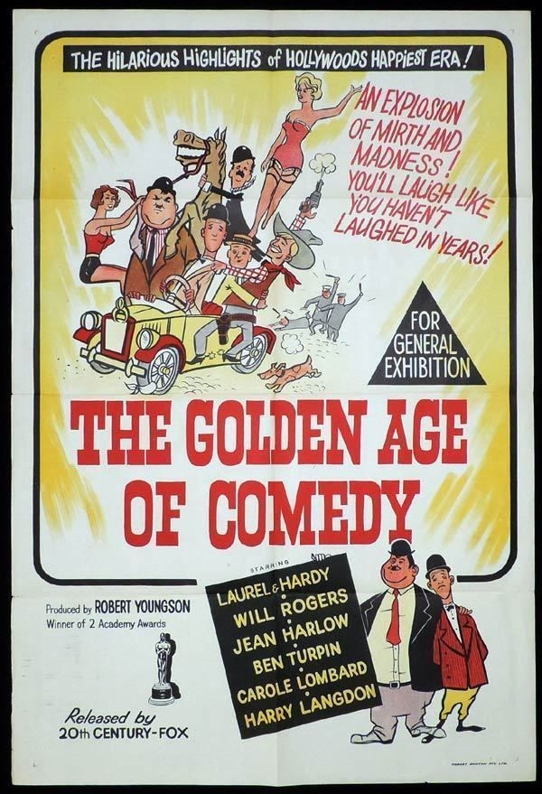 The Golden Age of Comedy THE GOLDEN AGE OF COMEDY One Sheet Movie Poster Laurel and Hardy