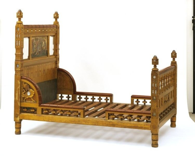 The Golden Bed The Golden Bed Burges William ARA VA Search the Collections