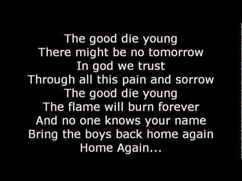 The Good Die Young ScorpionsThe good Die Young Lyrics YouTube