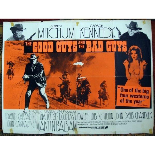The Good Guys and the Bad Guys Good Guys and the Bad Guys 1969 Original British Quad