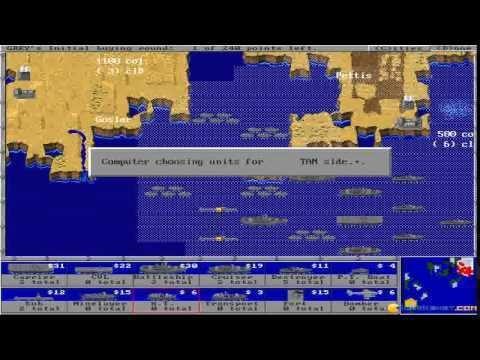 The Grandest Fleet Grandest Fleet 2 The gameplay PC Game 1995 YouTube