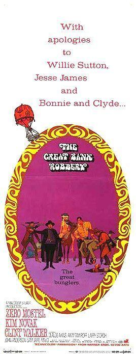The Great Bank Robbery (1969 film) - Alchetron, the free