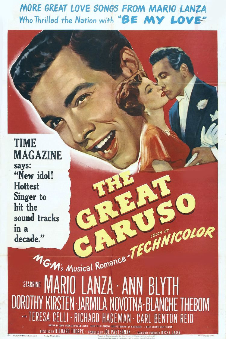 The Great Caruso wwwgstaticcomtvthumbmovieposters3418p3418p