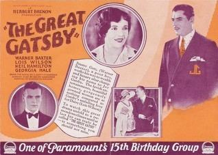 The Great Gatsby (1926 film) movie poster